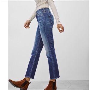 NWT Aritzia High Rise Cropped Jeans